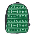 Ugly Christmas School Bags (XL)  Front