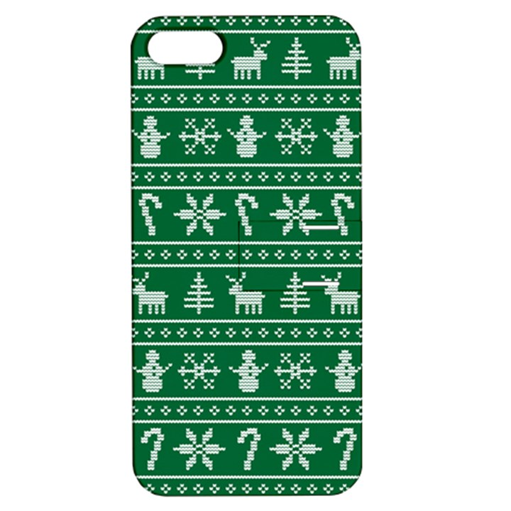 Ugly Christmas Apple iPhone 5 Hardshell Case with Stand