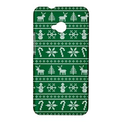 Ugly Christmas HTC One M7 Hardshell Case
