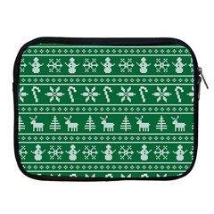 Ugly Christmas Apple iPad 2/3/4 Zipper Cases