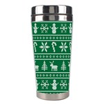 Ugly Christmas Stainless Steel Travel Tumblers Left