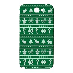 Ugly Christmas Samsung Note 2 N7100 Hardshell Back Case