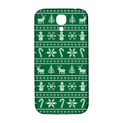 Ugly Christmas Samsung Galaxy S4 I9500/I9505  Hardshell Back Case