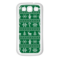 Ugly Christmas Samsung Galaxy S3 Back Case (White)