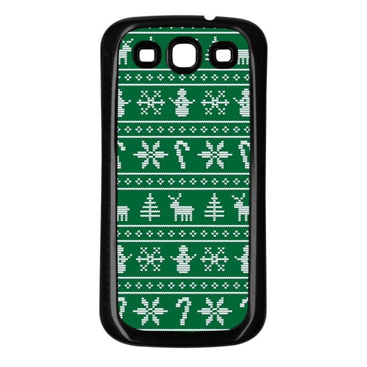 Ugly Christmas Samsung Galaxy S3 Back Case (Black)