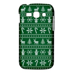 Ugly Christmas Samsung Galaxy Ace 3 S7272 Hardshell Case