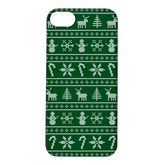Ugly Christmas Apple iPhone 5S/ SE Hardshell Case