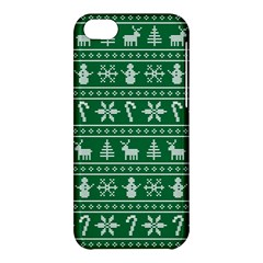 Ugly Christmas Apple iPhone 5C Hardshell Case