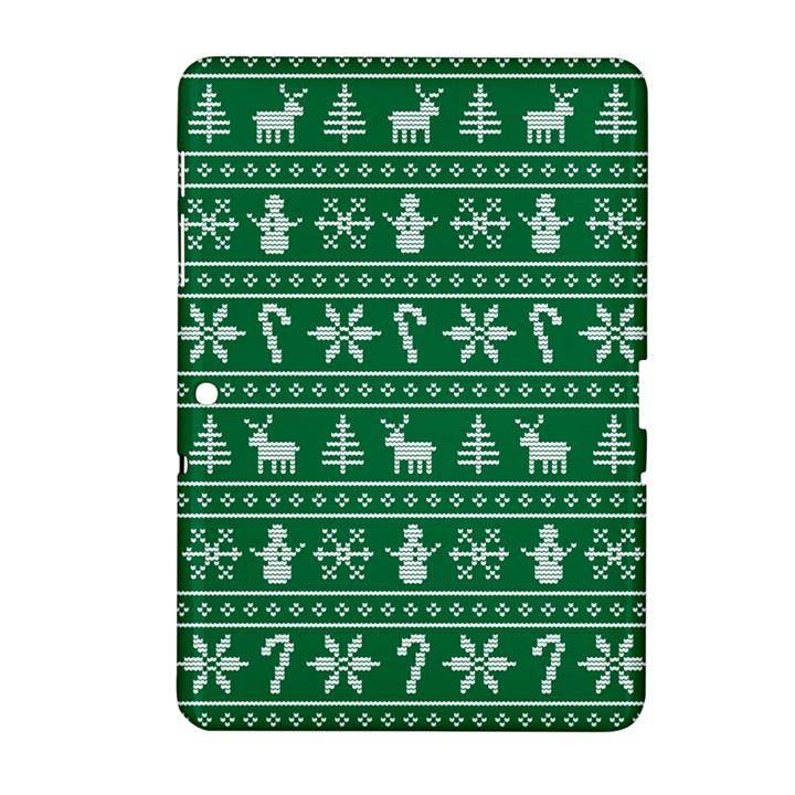 Ugly Christmas Samsung Galaxy Tab 2 (10.1 ) P5100 Hardshell Case