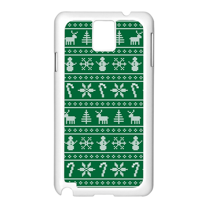 Ugly Christmas Samsung Galaxy Note 3 N9005 Case (White)