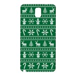 Ugly Christmas Samsung Galaxy Note 3 N9005 Hardshell Back Case Front