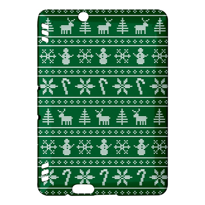 Ugly Christmas Kindle Fire HDX Hardshell Case