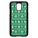 Ugly Christmas Samsung Galaxy S5 Case (Black) Front