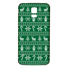 Ugly Christmas Samsung Galaxy S5 Back Case (white)