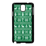 Ugly Christmas Samsung Galaxy Note 3 Neo Hardshell Case (Black) Front