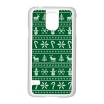 Ugly Christmas Samsung Galaxy S5 Case (White) Front