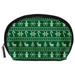 Ugly Christmas Accessory Pouches (Large)  Front
