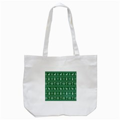 Ugly Christmas Tote Bag (White)