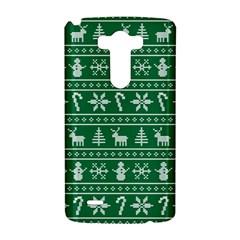 Ugly Christmas LG G3 Hardshell Case