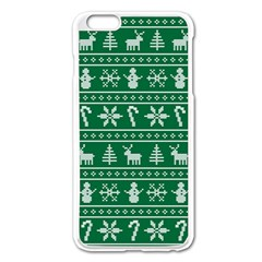 Ugly Christmas Apple Iphone 6 Plus/6s Plus Enamel White Case