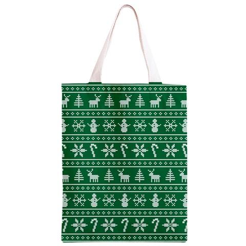 Ugly Christmas Classic Light Tote Bag