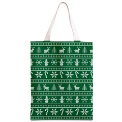 Ugly Christmas Classic Light Tote Bag