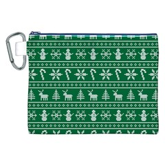 Ugly Christmas Canvas Cosmetic Bag (xxl)