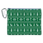 Ugly Christmas Canvas Cosmetic Bag (XXL) Front