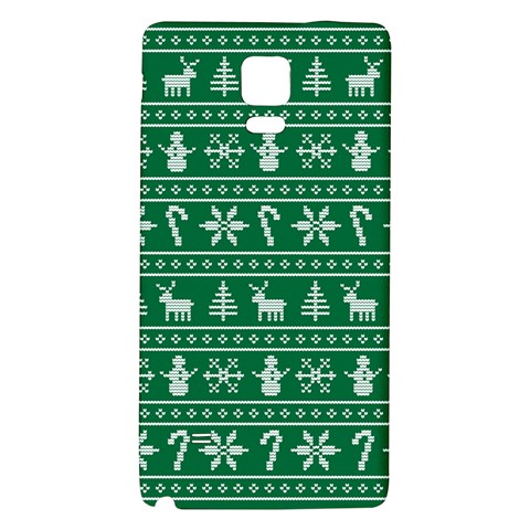 Ugly Christmas Galaxy Note 4 Back Case