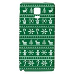 Ugly Christmas Galaxy Note 4 Back Case Front