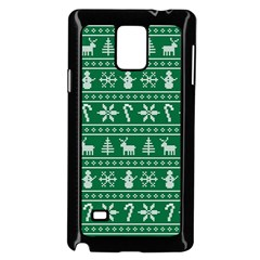 Ugly Christmas Samsung Galaxy Note 4 Case (Black)