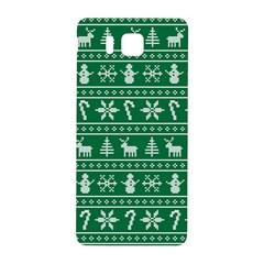 Ugly Christmas Samsung Galaxy Alpha Hardshell Back Case