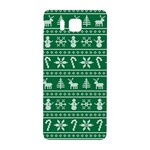 Ugly Christmas Samsung Galaxy Alpha Hardshell Back Case Front