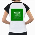 Ugly Christmas Ya Filthy Animal Women s Cap Sleeve T Back