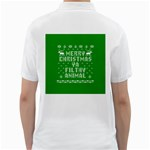 Ugly Christmas Ya Filthy Animal Golf Shirts Back