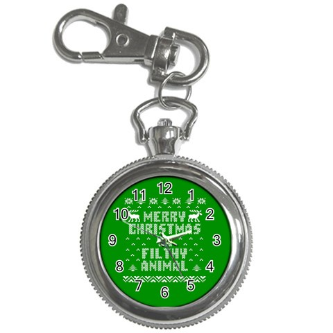 Ugly Christmas Ya Filthy Animal Key Chain Watches