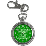 Ugly Christmas Ya Filthy Animal Key Chain Watches Front