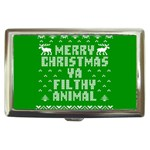 Ugly Christmas Ya Filthy Animal Cigarette Money Cases Front