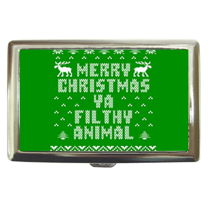 Ugly Christmas Ya Filthy Animal Cigarette Money Cases