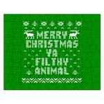 Ugly Christmas Ya Filthy Animal Rectangular Jigsaw Puzzl Front