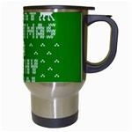 Ugly Christmas Ya Filthy Animal Travel Mugs (White) Right