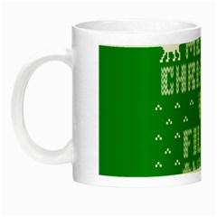 Ugly Christmas Ya Filthy Animal Night Luminous Mugs