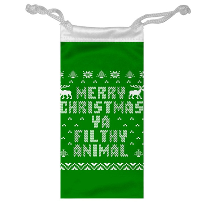 Ugly Christmas Ya Filthy Animal Jewelry Bags