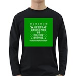 Ugly Christmas Ya Filthy Animal Long Sleeve Dark T-Shirts Front