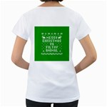 Ugly Christmas Ya Filthy Animal Women s Loose-Fit T-Shirt (White) Back