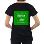 Ugly Christmas Ya Filthy Animal Women s Loose-Fit T-Shirt (Black) Back