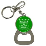 Ugly Christmas Ya Filthy Animal Bottle Opener Key Chains Front