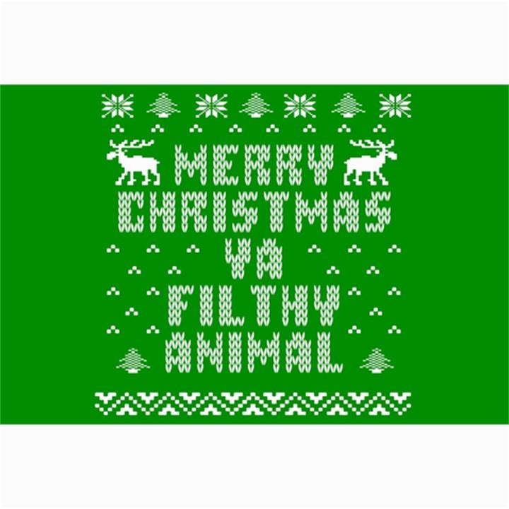 Ugly Christmas Ya Filthy Animal Collage Prints