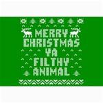 Ugly Christmas Ya Filthy Animal Collage Prints 18 x12 Print - 3