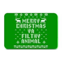 Ugly Christmas Ya Filthy Animal Plate Mats